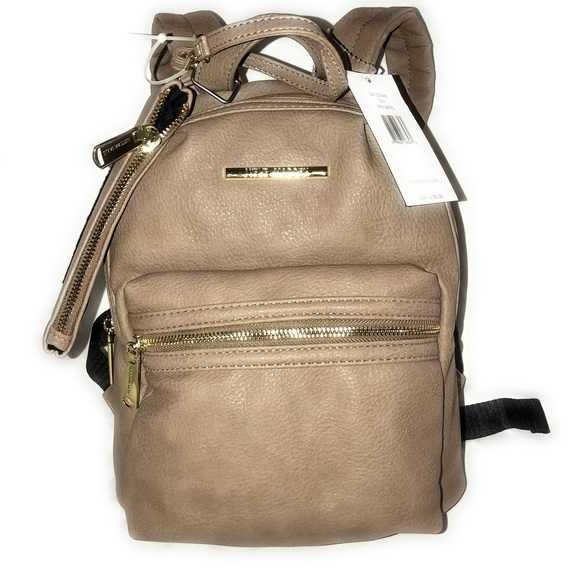 most popular best sale fast color Steve Madden Mini Backpack Purse Nude Tan Blush NWT